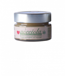 Crema Nòcciola con semi di canapa decorticati 100 gr.